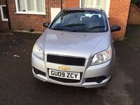 2009 Silver CHEVROLET AVEO S 1.2 Hatchback 5dr Petrol Manual Two careful previous owner