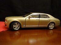 BENTLEY Diecast model car 1:18