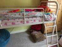 Single Cabin Bed with memory foam mattress