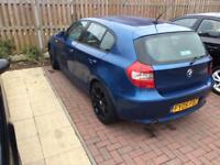 2005 bmw 116i 1.6cc 5 door met blue m-sport Alloys good spec mot tax needs TLC