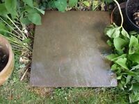 large riven paving slabs