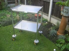Stainless Steel trolley made from high grade stainless £35 no offers