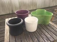 Flower pots - London E14 - All together £5