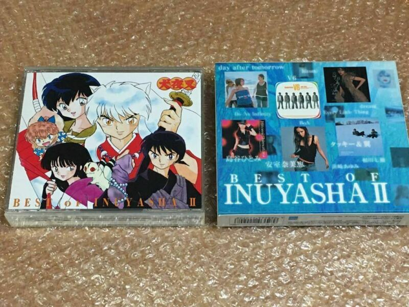 Best Of Inuyasha Ⅱ Seifu Meigetsu DVD CD 2disc First Limited Edition avex Japan