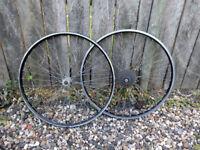 "Alesa 26"" 7 speed mountain bike wheels"