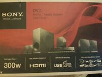 Sony DAV-TZ140 DVD Home Cinema System (Boxed with manual)