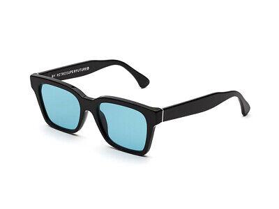 Sunglasses Retrosuperfuture Handmade Icm America Black Turquoise