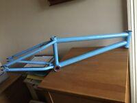 Total bmx frame custom paint job