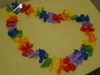 Coloured Flower Garland - New with tags