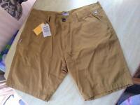 "New Men's Craghopper Shorts Size 38"" Light Olive"
