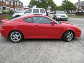 Hyundai Coupe 2.7 V6 Manual - excellent condition