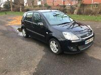 Ford Fiesta ghia Top Spec TDCI Cheap Car Long MOT Bargain look