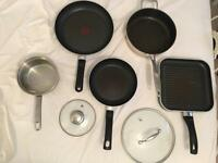 Five Saucepans £50