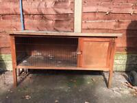 Rabbit hutch - double and single