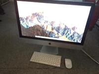 iMac 27-inch 2.8ghz and quad core i5 4gb memory 1tb HD mid 2010