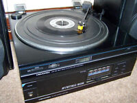 Memorex-LAB-372 turntable all working with new belt and stylus