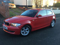 2008/58*BMW 118D SE*2.0 DIESEL*£30 TAX*FULL SERVICE HISTORY*6 SPEED*2 OWNERS*START/STOP*WARRANTY