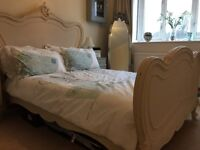 French style shabby chic bed