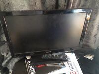 Toshiba 22' 22DL702 television for sale