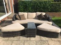 Luxury Rattan garden furniture