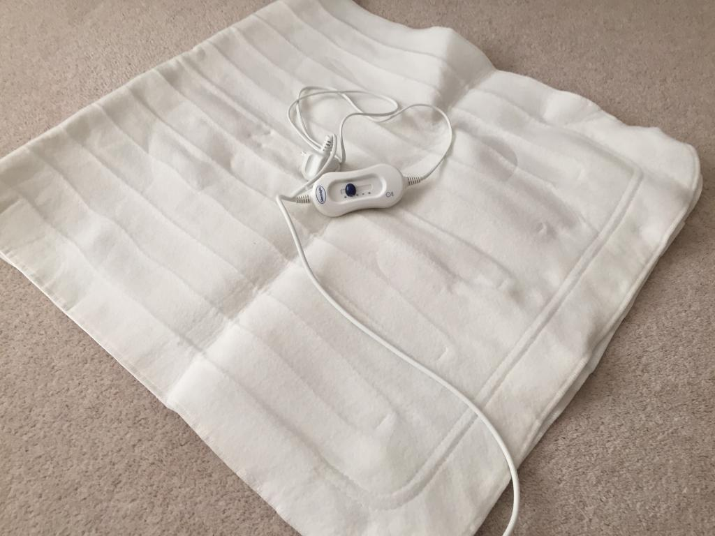 SILENT NIGHT ELECTRIC HEATED UNDER BLANKET