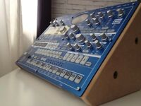 Korg EMX-1SD Synthesizer/Drum Machine/Sequencer & Wooden Side Panels