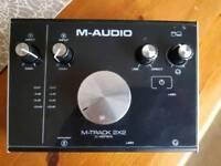 M audio 2x2