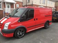Ford transit 260 sport 6 seater day van low millage full ford service history