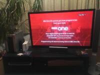 Lg 50 inch Full HD TV and Unit