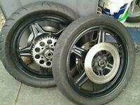 Motorbike wheels
