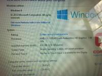 "Compaq CQ58 Win8 AMD E1 Factory Reset 4GB DDR3 15.6"" Laptop"