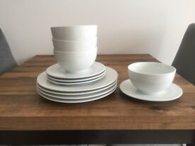 Dinnerware set- perfect condition