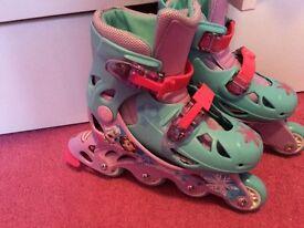 Frozen inline skates size 10-12