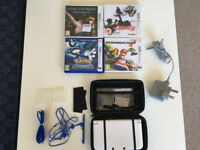 Nintendo 3DS XL - Includes Case, accessories, charger and 4 Games