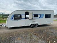 2012 Swift Sprite Quattro FB 6 birth Caravan