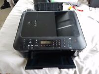 Canon PIXMA MX410 All-in-One Inkjet Printer. Used + 2 Colour Cartridges