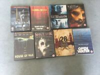 DVDS HORROR X8 FOR SALE