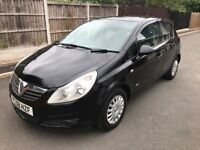 Vauxhall Corsa 1.2 Petrol 5Door Black
