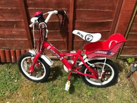 """***APOLLO KIDS 14"""" BIKE ONLY £45.00 EXCELLENT CONDITION***"""