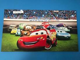 Disney cars canvas