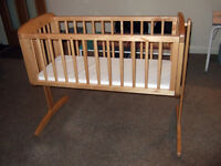 Mothercare Swinging Crib **Cot Bed