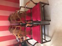 8 fine George III Mahogany Dining Chairs in the Hepplewhite Style