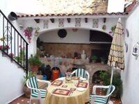 Winter sunshine ?Traditional Spanish village house ,Oliva, Costa Blanca sleeps 4