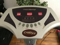 Crazy Fit Massage Machine (PERFECTLY FUNCTIONAL) (Open to offers)