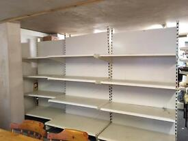 Shop shelving & peg board plus hooks