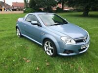 07 REG VAUXHALL TIGRA 1.4i 16V EXCLUSIV 2DR-FULL HEATED LEATHER-LOW MILES-12 MONTHS MOT-DRIVES GREAT