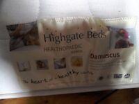 Single mattress.
