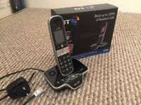 BT 8600 Phone with Answer Machine - Advanced Call Blocker - Digital Cordless - Boxed As New