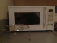 Microwave oven with grill - house clearance