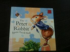 Peter Rabbit - Jigsaw book. Excellent condition